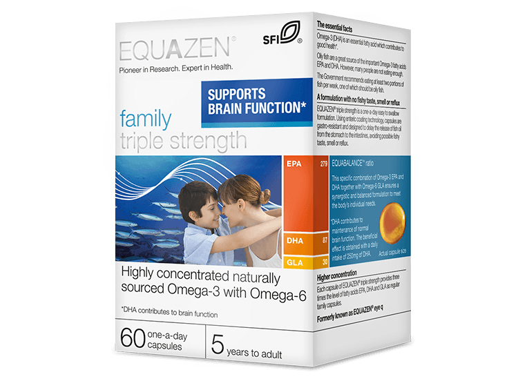 Equazen® Family Triple Strength Capsules